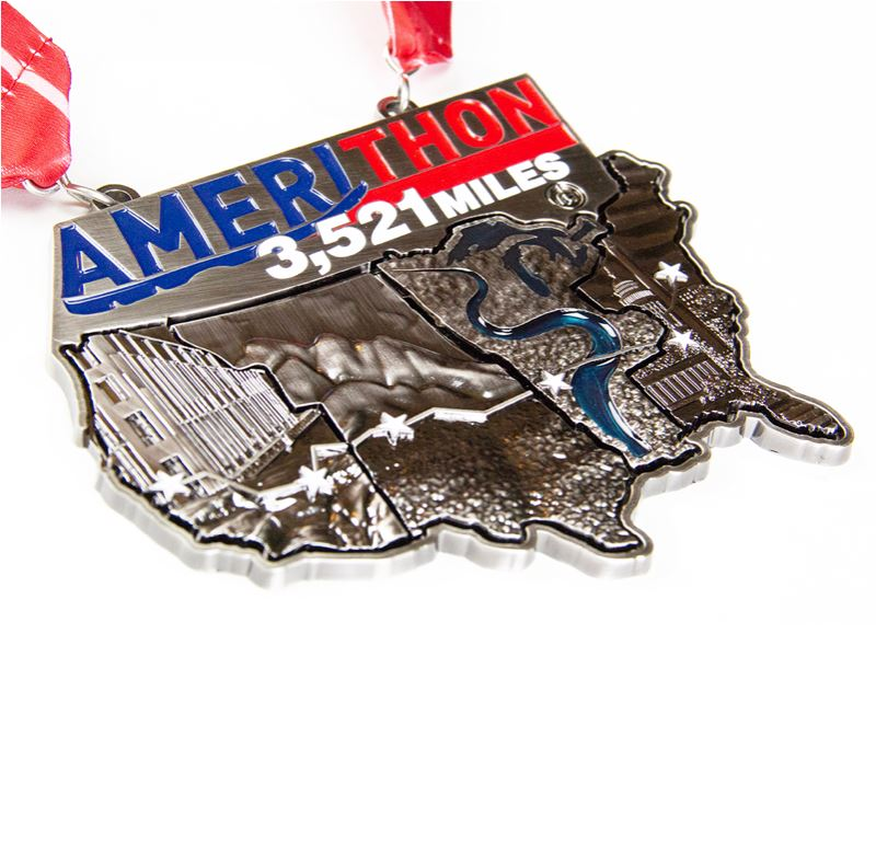 Amerithon Challenge: Deluxe Registration Registrations Run The Edge