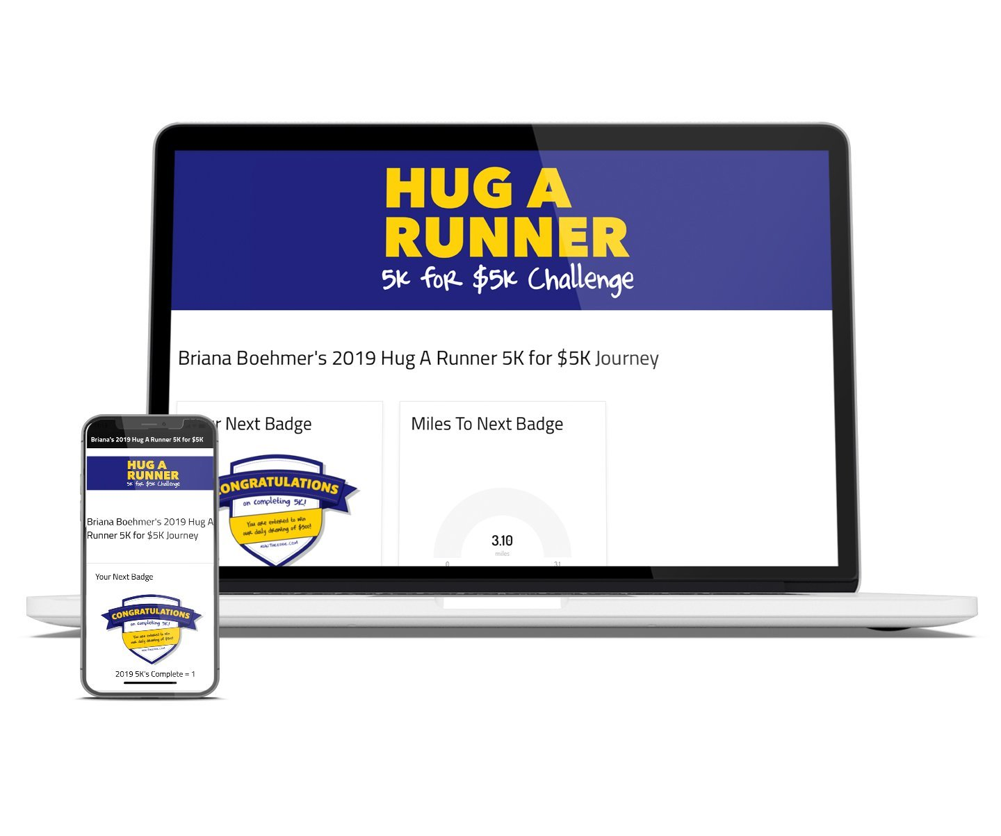 2019 Hug A Runner 5K for $5K: Basic Registration Registrations Run The Edge Store