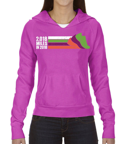 Run The Year 2018 Lifestyle Women's Hooded Fleece