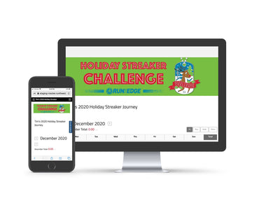 2020 Holiday Streaker Challenge: (Registration Only) Registrations Run The Edge