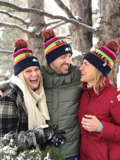 Run The Year 2018 Pom Pom Beanie Accessories Run The Edge