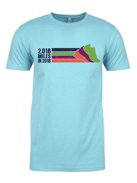 Unisex Run The Year 2018 Lifestyle Poly-Blend Shirt