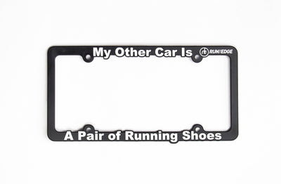 My Other Car License Plate Frame Accessories Run The Edge