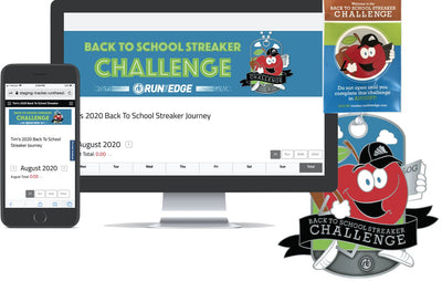 2020 Back To School Streaker Challenge: (Registration PLUS Dog Tag) Registrations Run The Edge