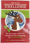 2020 Holiday Streaker Challenge: (Registration PLUS Dog Tag) Registrations Run The Edge