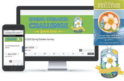 2020 Spring Streaker Challenge: (Registration PLUS Tag) Registrations Run The Edge