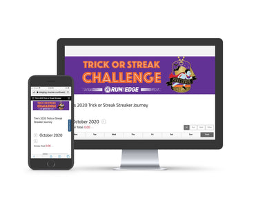 2020 Trick or Streak Challenge: (Registration Only) Registrations Run The Edge