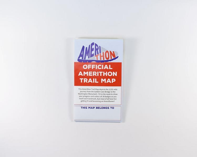 Amerithon Wall Map Accessories Run The Edge