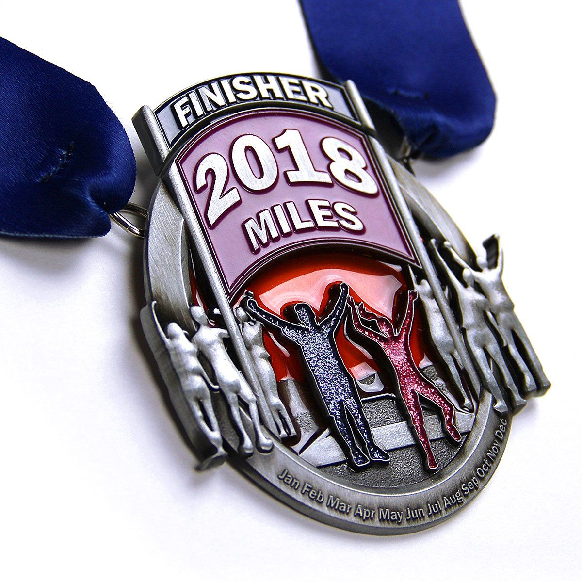 Run The Year 2018 Medal Medals Run The Edge