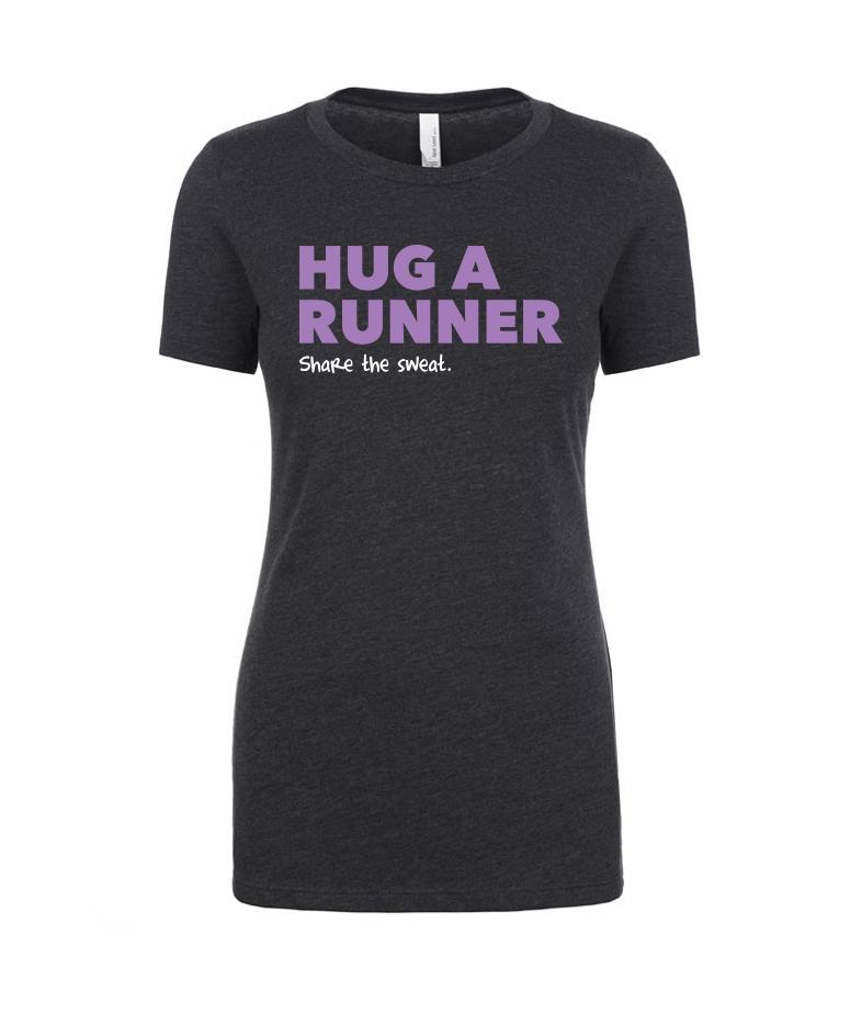 Hug A Runner Poly-Blend Shirt Shirts Run The Edge Store