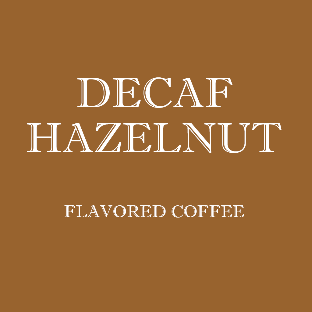 DECAF HAZELNUT - Wholesale