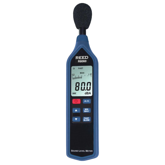 R8060 Sound Level Meter with bar graph