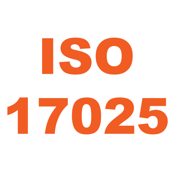ISO-17025 Calibration Certificate with Data and Uncertainties