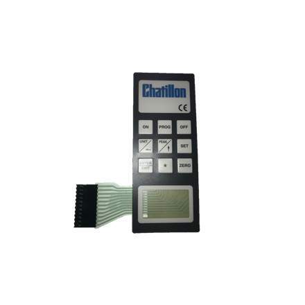 SPK-DFGS-023<br> DFGS Force Gauge Keypad<br> Chatillon, Legacy Parts