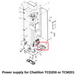 SPK-FM200-012 Power Supply for TCD200 and TCM201