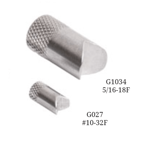 G1027 and G1034<br> V-Groove Attachment<br> Mark-10, Force Gauge Attachments