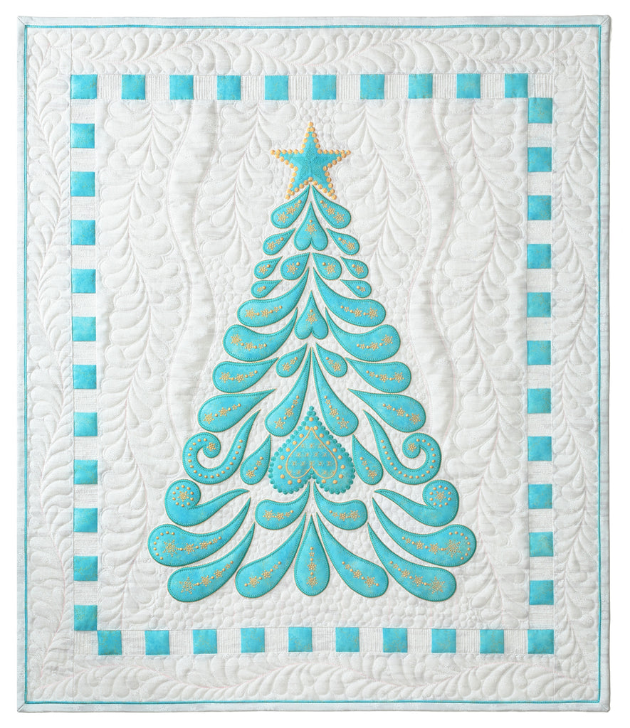 Feathered Christmas – Meaning of Life Designs by Sarah Vedeler