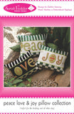 Peace Love and Joy Pillow Collection