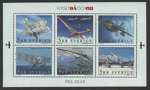 SW2421 Sweden Scot # 2421 MNH, Airplanes 2001