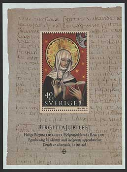 SW2465 Sweden Scott # 2465 MNH, St. Bridget 2003