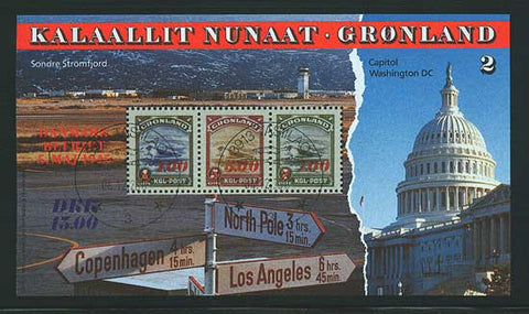 GR0294 Greenland Scott # 294 MNH, ''American'' Issue Reprints #2 1995