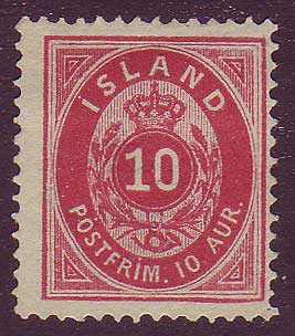 IC00112 Iceland Scott # 11 VF NG
