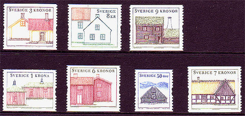 SW2485-871 Sweden Scott # 2485-87, 2494-71 MNH
