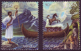 NO1400-01 Norway Scott # 1400-01 MNH,  Nordic Mythology 2004