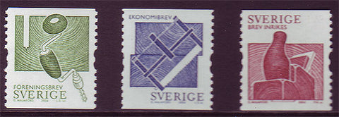 SW2475-771 Sweden Scott # 2475-77 MNH, Woodworking Tools 2004