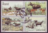 AL0165a1 Åland booklet Scott # 165a NH.  Elk