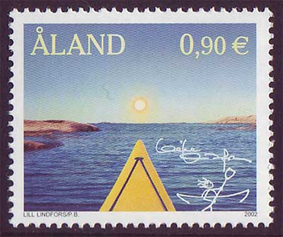 AL02061 Åland Scott # 206 NH.  ''My Aland'' 2002