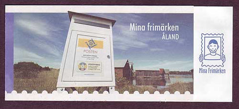AL0249a1 Åland booklet Scott # 249a NH.  Personalized Stamps - 2006