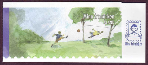 AL0266a1 Åland booklet Scott # 266a NH.  Personalized Stamps - 2007