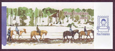 AL0281a Åland booklet Scott # 281a NH.  Personalized stamps 2008