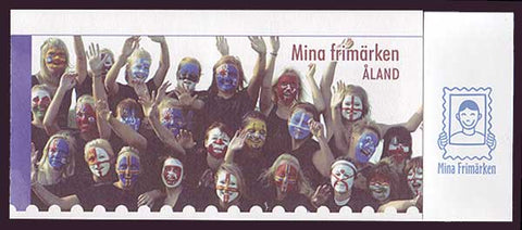 AL0290a Åland booklet Scott # 290a NH.      Personalized Stamps  2009