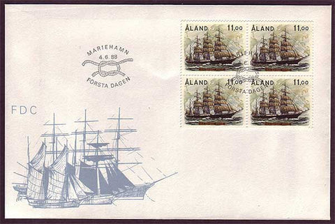 AL5007 Åland First Day Cover - Tall Ship Pamir