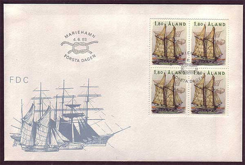 AL5008 Åland First Day Cover - Tall Ship Albanus