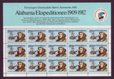 Alabama Expedition to Greenland 1909-12, Souvenir Sheet and Stamps 1981