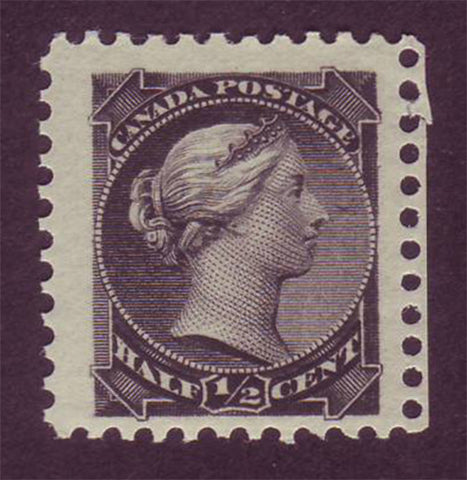 CA00341 Canada Small Queen Scott # 34 F-VF MNH** 1882