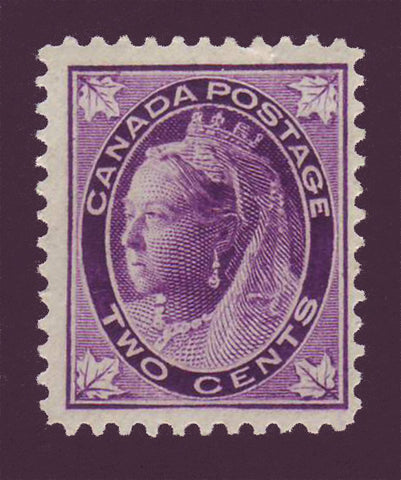 "CA00681 Canada Queen Victoria ""Maple Leaf"" Issue,  # 68 F MNH** 1897"