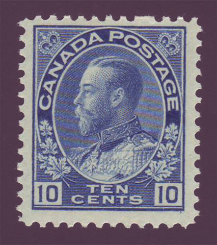 "CA01171 Canada  George V ""Admiral"" Issue # 117 F-VF MNH** Perf flaw variety."