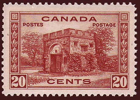 CA02431 Canada - Fort Gary Gate, Winnipeg # 243 VF MNH**