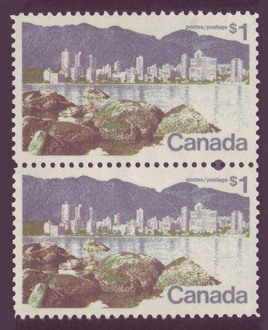 CA0600ii Canada # 600ii VF MNH** Short $ Flaw variety in pair with # 600