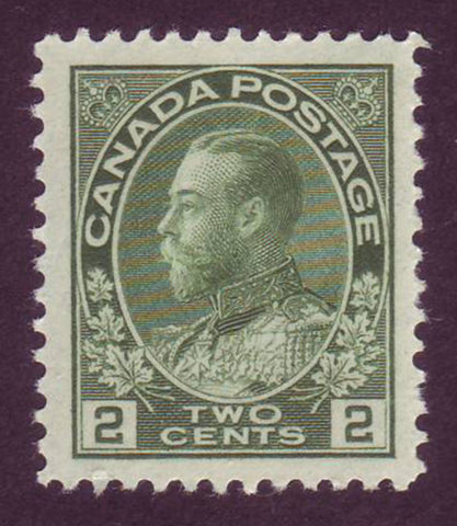 "CA0107iv Canada  George V ""Admiral"" Issue 1911-1925, Unitrade # 107iv"