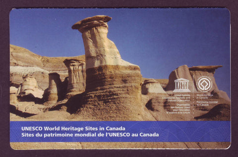 CA2847a Canada # 2847a Unesco World Heritage Booklet with Image Error - 2015