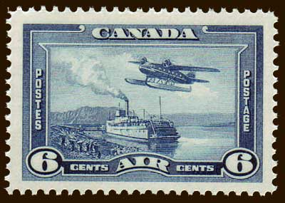 CAC061 Canada # C6 VF MH