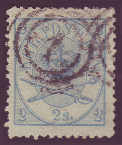 DE0011.15 Denmark Scott # 11 VF - 1865