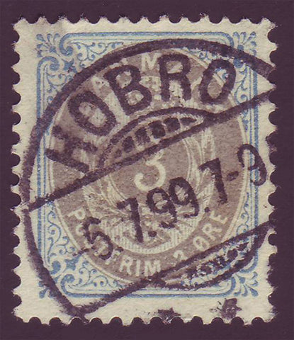 Copy of DE0041b5 Denmark Scott # 41b VF 1895-1901