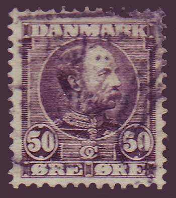 DE00685 Denmark Scott # 68 VF used 1905