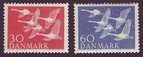 DE0361-621 Denmark Scott # 361-62 MNH. Northern Countries Issue 1956